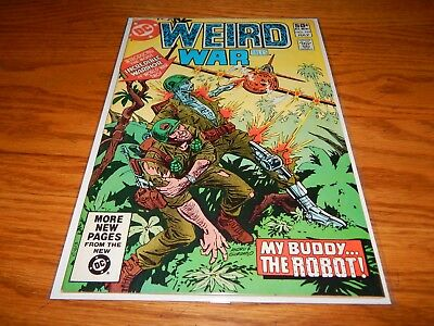 KEY Great Find UNREAD Bronze Age Comic Weird War Tales # 101  9.2 & Up Condition