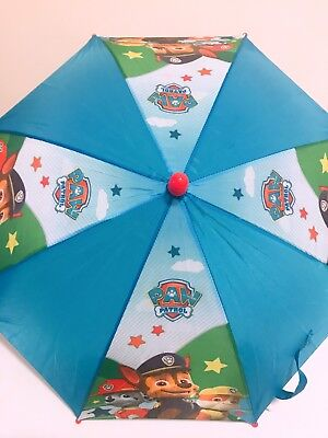 Paw Patrol Puppy Pals Toddler Kids Boys Rain Umbrella with 3D Chase Handle