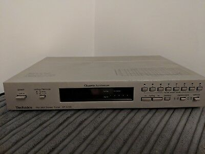 Technics ST-C03 - Quartz synthesizer FM/AM Stereo Tuner