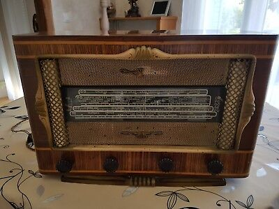 Ancienne Radio Tsf Excelsior Annee 50