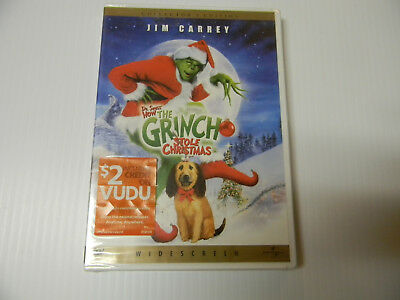 How the Grinch Stole Christmas (DVD, 2001, Collector's Edition) FULLSCREEN