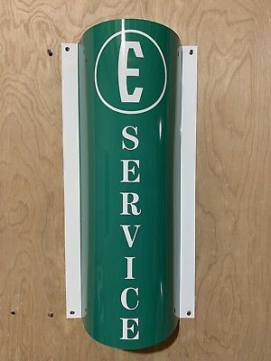 Edsel Ford  SERVICE Curved Retro Style Reproduction Garage Sign