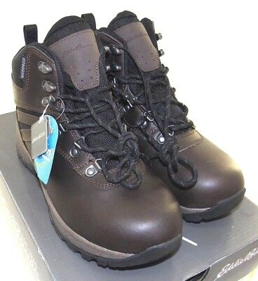 2c7cbcb30c53c EDDIE BAUER  EVERETT  Men s Hiking Boot Leather Waterproof Brown 8M ...