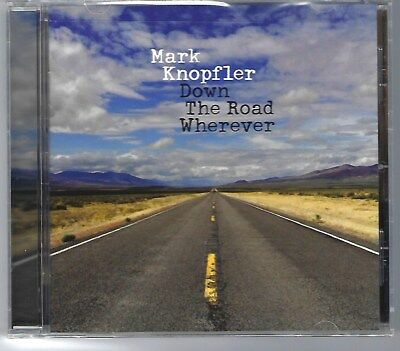 Mark Knopfler - Down The Road Wherever [New CD still in shrink wrap] 2018