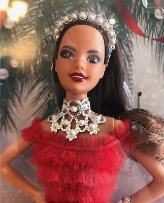 Barbie 2018 Holiday Signature Collector Doll - Brunette - NICE BOXES!