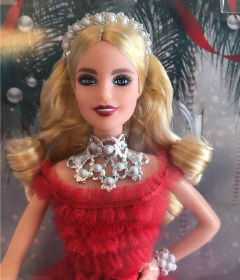 Barbie 2018 Holiday Signature Collector Doll - Blonde - Great Box
