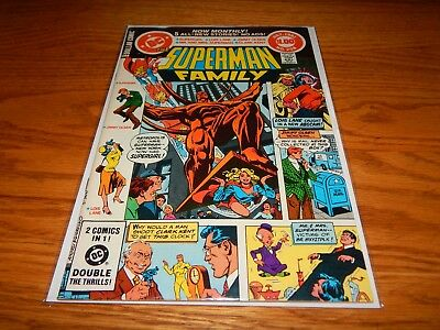 Great Find UNREAD Bronze Age Comic The Superman Family # 208  9.2 & Up Cd.