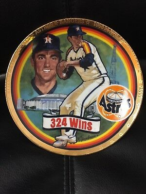 Vintage NOLAN RYAN 324 Wins The Hamilton Collection Limited Edition Plate