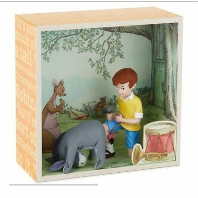 Christopher Robin with Eeyores Tail Shadow Box