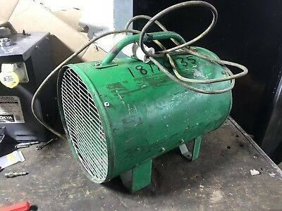 Ebac PF400 Air Mover Industrial Carpet Blower 110v 300mm Dust Fume Extractor