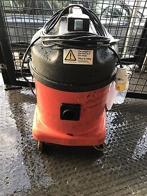 NUMATIC INDUSTRIAL HOOVER WET DRY VACUUM SMALL 110v