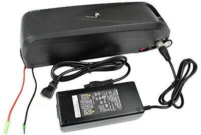 36V 13 Ah ebike Hairon battery pack with charger and mains leads