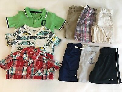 Boys 5T Clothes Lot Polo Ralph Lauren Gap Nike Crew Cuts Shirts Shorts