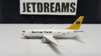 1/400 German Cargo Boeing 737-200 / 200F 1990's Colors D-Abhe Aviation 400