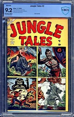 Jungle Tales #2 CBCS 9.2 ((MARRIED COVER))