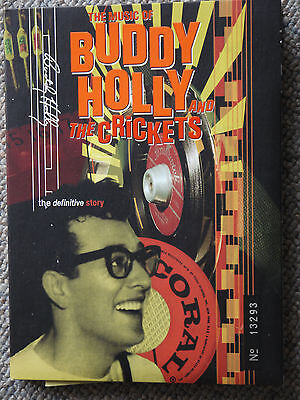 The Music Of Buddy Holly And The Crickets, The Definitive Story (DVD+CD - rar)