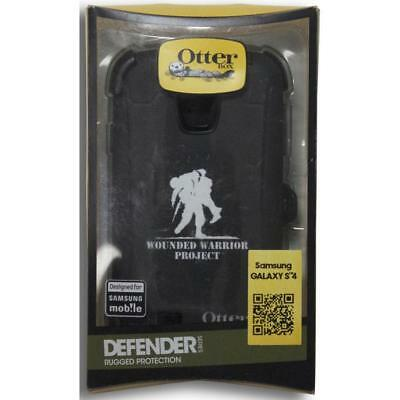 OtterBox Defender Series - For Samsung Galaxy S4 - Wounded Warrior - Black