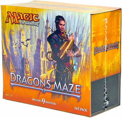 Dragon's Maze Fat Pack (ENGLISH) FACTORY SEALED BRAND NEW MAGIC MTG ABUGames