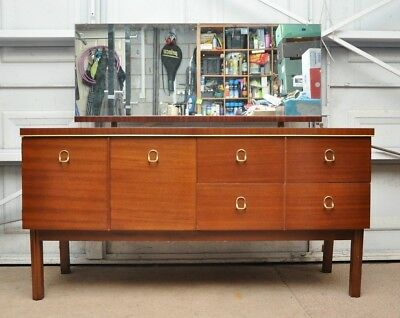 Remploy Retro Vintage Dressing Table with Mirror