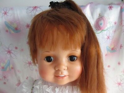 Vintage 1972 Ideal 24 Hair Growing Crissy Baby Doll Cutead