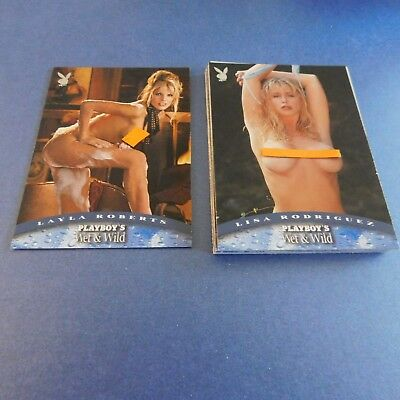 Non Sport Trading Cards 15 Different Playboy Wet&wild