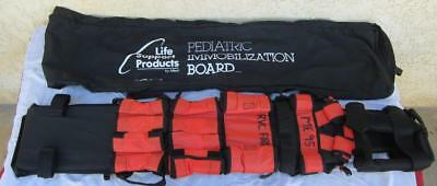Allied Emergency Rescue Pediatric Immobilization Board Childs Childrens EMS Fire