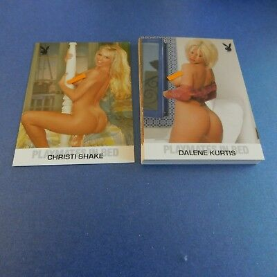 Non Sport Trading Cards 15 Different Playboy Playmates In Bed(15)