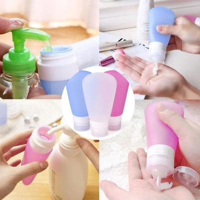 Outdoor Portable Travel Cusmetic Bottles Silicone Leak Proof Shampoo Containers
