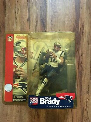 McFarlane Sports NFL Football Series 5 New England Patriots QB Tom Brady Figure