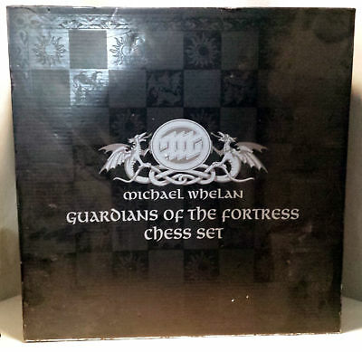 Franklin Mint Guardians of the Fortress Chess Set Michael Whelan - Minor Issues