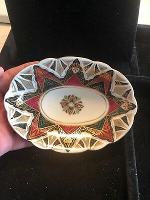 Antique Alhambra  Bowl Hand Painted