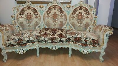 Rare Vintage Rococo  fabric sofa .Very good condition.