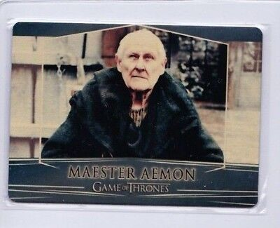 2017 Game Of Thrones Maester Aemon Season 7 Valyrian  Gold Metal #67 Pd