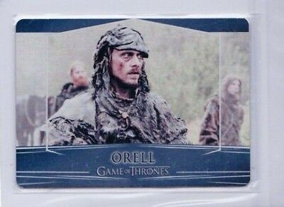 2017 Game Of Thrones Orell Season 7 Valyrian Metal #93 Pd