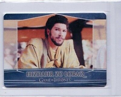 2017 Game Of Thrones Hizdahr Zo Loraq Season 7 Valyrian  Metal #79 Pd