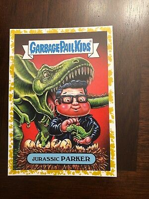 2019 Garbage Pail Kids We Hate the 90's GOLD Jurassic PARKER 46/50