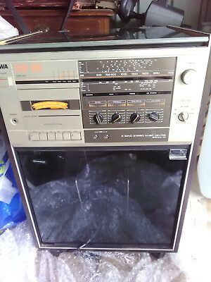 Awa sm-23A 2 band stereo music centre working