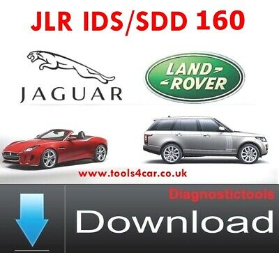 Jaguar / Land Rover JLR SDD V157.02 Downlodable Version
