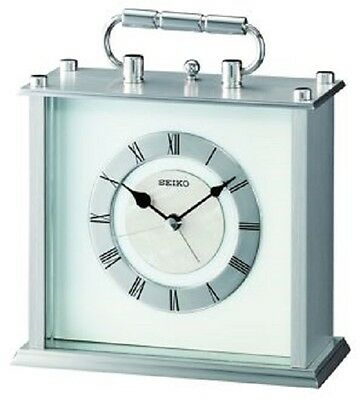 Seiko Carriage Clock With Alarm QHE066S RRP £80.00 Our Price £72.00 Free P&P