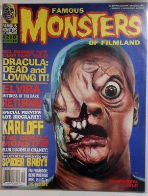 Famous Monsters Of Filmland #210