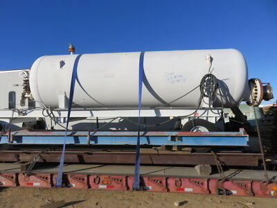 2500 gallon steel pressure tank rated to 225 PSI