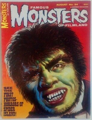 Famous Monsters Of Filmland #34