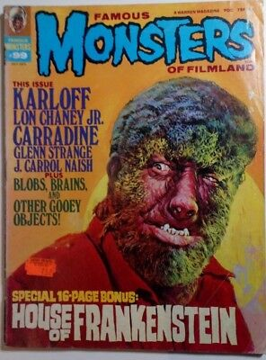 Famous Monsters Of Filmland #99
