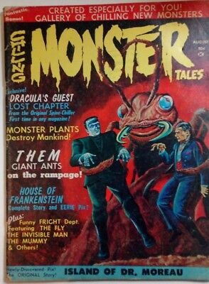 Chilling Monster Tales #1