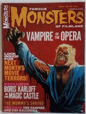 Famous Monsters Of Filmland #46