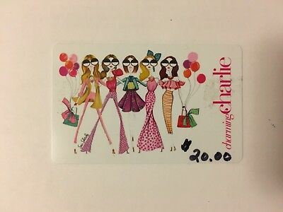 Charming Charlie Gift Card $20