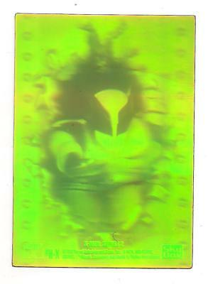 Scarce 1993 Marvel X-Men Series 2 Wolverine H-X 3D Hologram Chase Card Nm-M