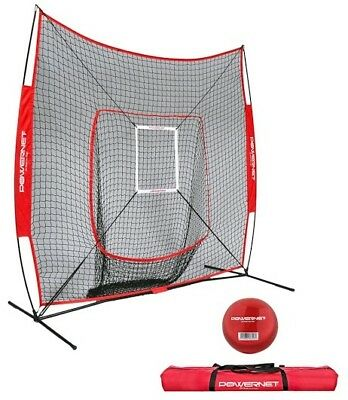 New PowerNet DLX Baseball Net, baseball softball training net, portable net Powe