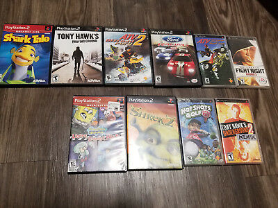 Lot of 10 PS2 and PSP Games Tested, Working