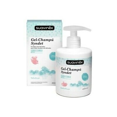 SUAVINEX Shampoo e Shower Gel 400 ml